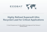 Technical information ECOBAT Softlead